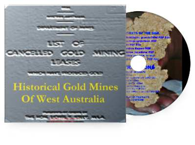 Historical Gold Mines CD and PDF
