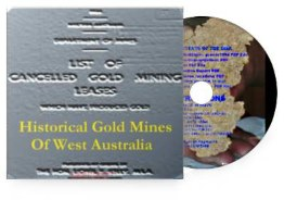 Historical Goldmines of WA CD