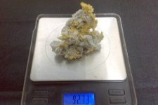 Gold Nugget 3 Ounces  Speci cleaned up- Click to enlarge