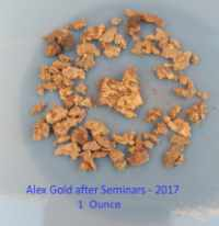 Alex's gold 1 Ounces - Click to enlarge
