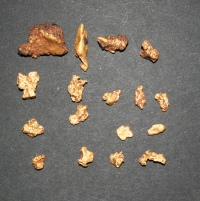 Cleaned Gold Nuggets