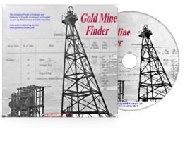 Goldmine Finder Software CD