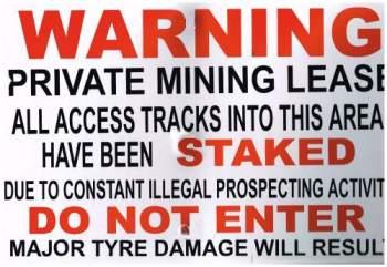 Illegal Sign