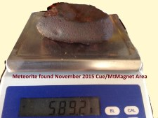 Meteorite- Click to enlarge