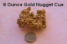 Gold Nugget 8 Ounces - Click to enlarge
