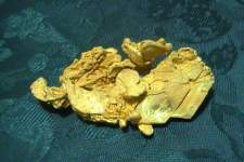 gold nugget 3.5 ounces - Click to enlarge