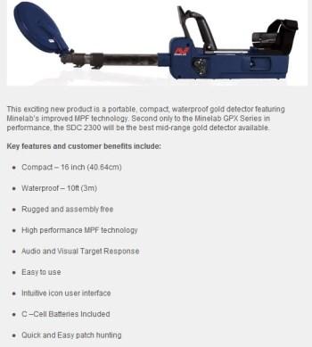 Minelab sdc2300