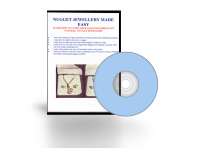 GOLD NUGGET JEWELLERY MADE EASY