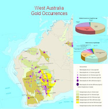 Gold Mines and Gold Occurrences in WA