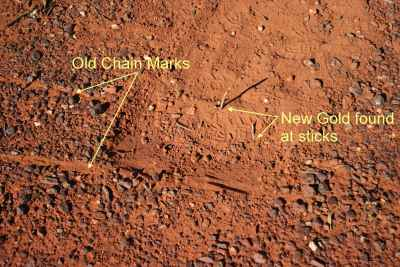 More Gold Missed in a Chained Area