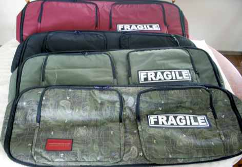 Colours of the Metal Detector Bags