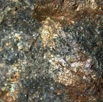 Pyrites in Rock Specimen