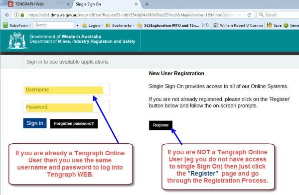 Tengraph Web Login