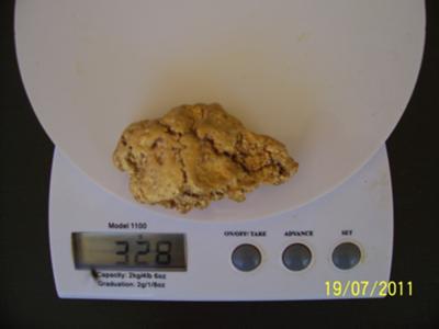 10.5 ounce Gold Nugget Leonora WA
