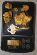 Gold nuggets West Australia