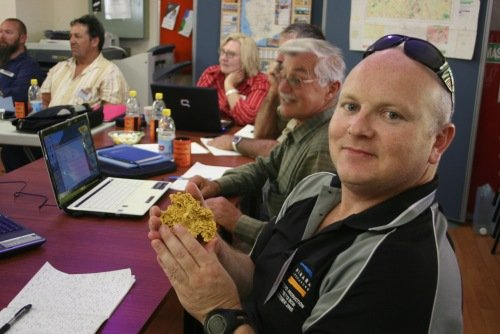 Gold Prospecting Lessons - Seminar Group